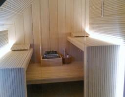 Abachi sauna